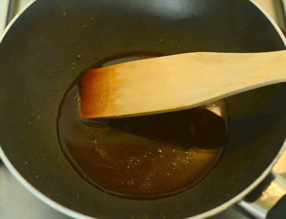 keep stirring so coconut sugar melts too