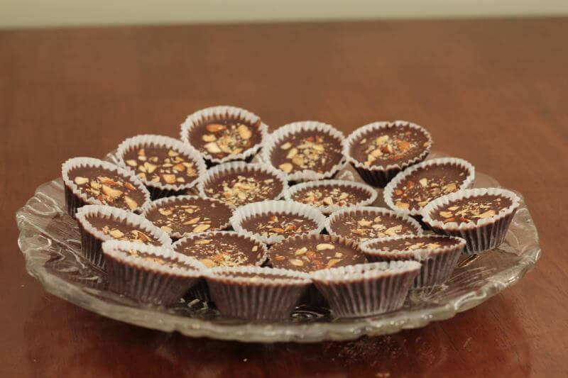 my sugar free chocolate peanut butter cups