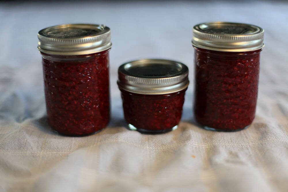 Delectable, Storable, Healthy - Sugar Free Raspberry Jam